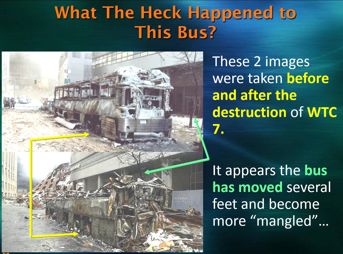 Bus Near WTC 7