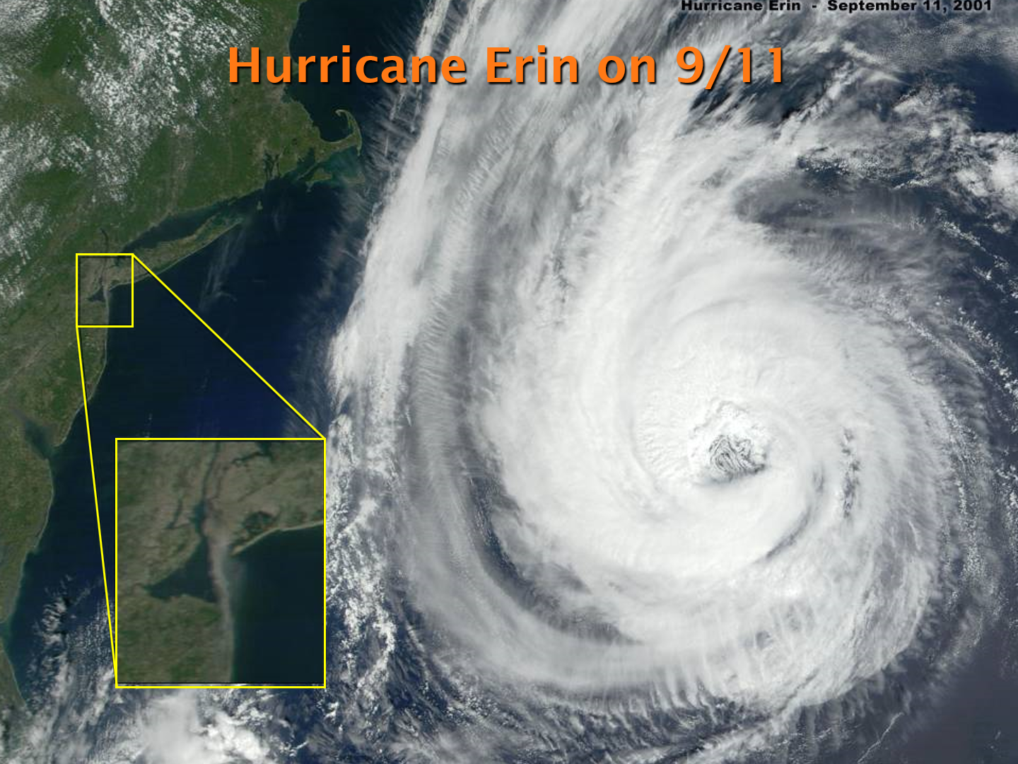 Hurricane Erin on 9/11