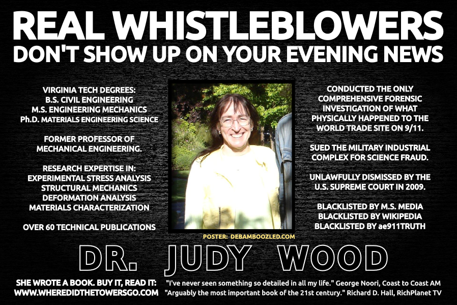Dr Judy Wood - A Force for Good